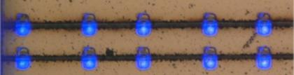 Laser assisted bonding of microLEDs (Bolite Opto)