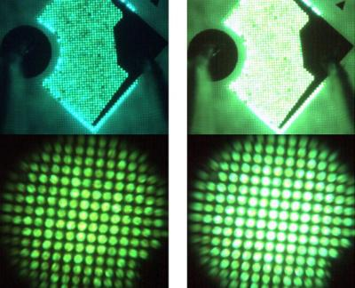 Emission microscopy of efficient InGaN green microLEDs (University of Sheffield)