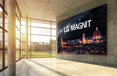 LG MAGNIT MicroLED TV photo