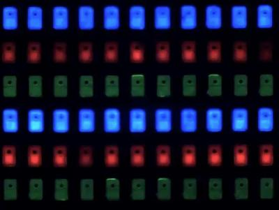 PlayNitride MicroLED array
