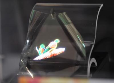 PlayNitride flexible Micro-LED prototype, SID 2019