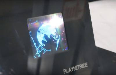 PlayNitride microLED prototype (SID-2018)