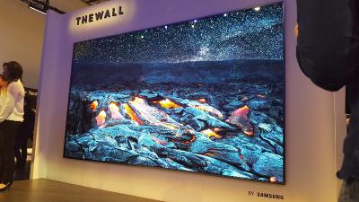 Samsung 146'' micro-LED TV, The Wall