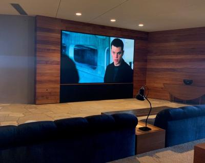 Samsung The Wall Professional, first US installation photo