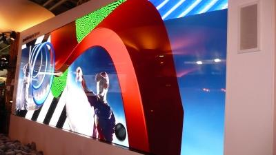 Sony demonstrate two Crystal-LED displays at ISE 2018