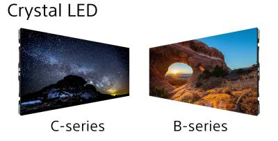 Sony Crystal-LED B series and C series, module images