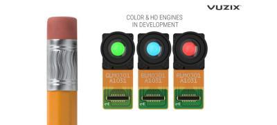 Vuzix microLED display engines SID Displayweek 2021