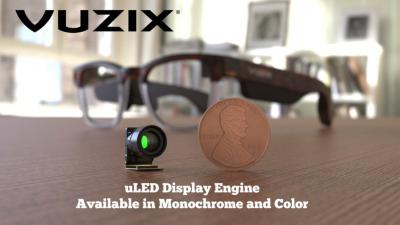 Vuzix microLED display engine 2021 photo