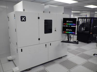 X-Display Corp 300 mm microLED transfer equipment photo