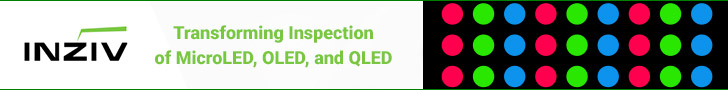 InZiv - Transforming inspection of MicroLED, OLED, and QLED