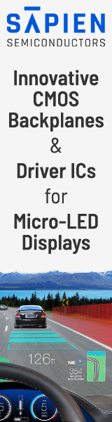 Sapien Semiconductors: CMOS backplanes and drivers for Micro-LED displays