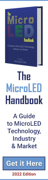 The MicroLED Handbook ad